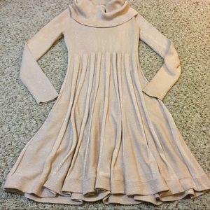 Calvin Klein holiday sparkle sweater dress